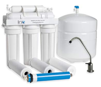 Linis 4 stage reverse osmosis water purification system