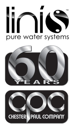 Linis brand water purification systems by Chester Paul Company