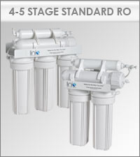 Linis 4 & 5 Stage Standard RO reverse osmosis systems